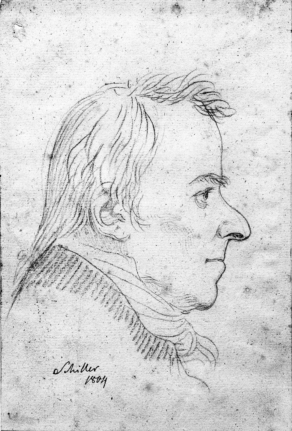 Portrait Friedrich Schiller (Dr. Sibylle Ehringhaus)